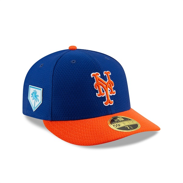 New York Mets 2019 Spring Training Low Profile 59FIFTY MLB Cap
