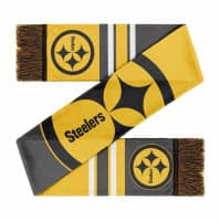 Pittsburgh Steelers Colorblock Big Logo NFL Schal