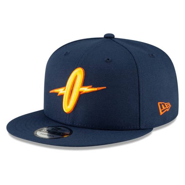 "Golden State Warriors ""O"" Official 2020/21 City Edition New Era 9FIFTY Snapback NBA Cap Alternate"