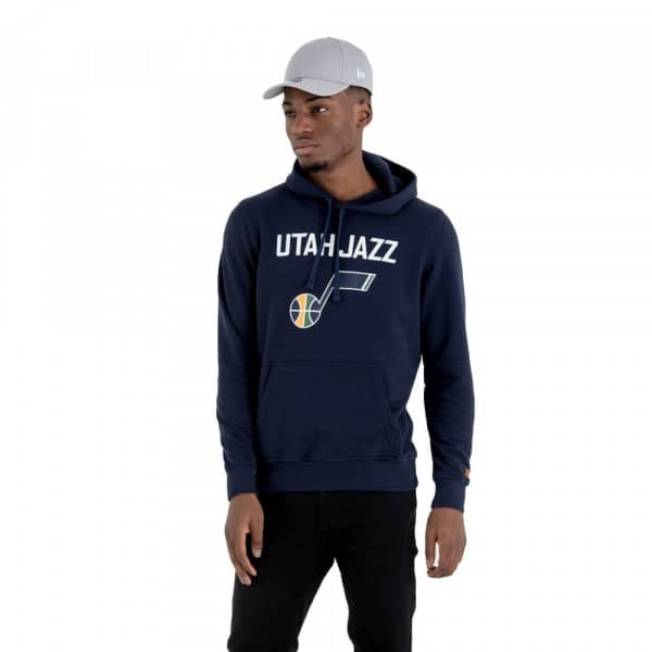 Utah Jazz Team Logo Hoodie NBA Sweatshirt