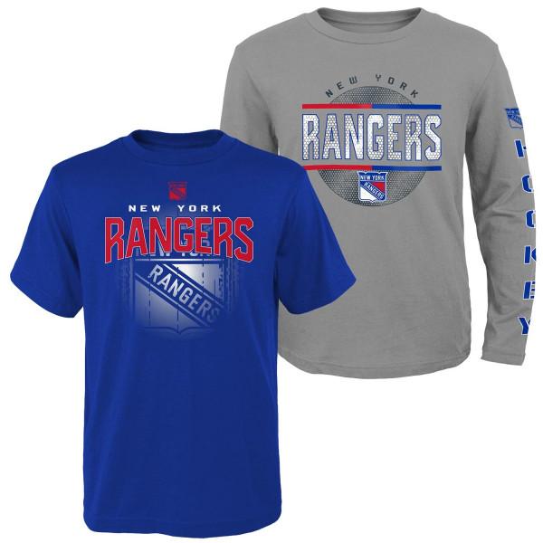 New York Rangers Evolution 3-in-1 Combo Shirt Set (KINDER)