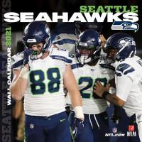 Seattle Seahawks 2021 Team NFL Wandkalender