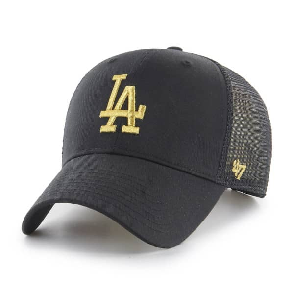 Los Angeles Dodgers '47 Brand Metallic MLB Trucker Cap