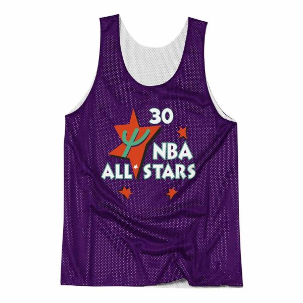 68a924dd Mitchell & Ness Scottie Pippen Chicago Bulls All-Star Reversible Mesh NBA  Tank Top   TAASS.com Fan Shop