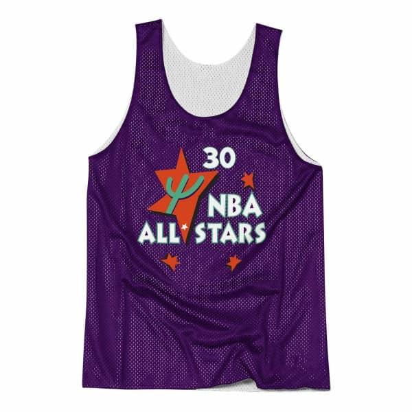 3baebc0de9f32 Mitchell   Ness Scottie Pippen Chicago Bulls All-Star Reversible Mesh NBA  Tank Top