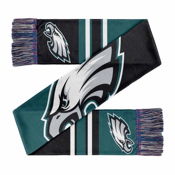 Philadelphia Eagles Colorblock Big Logo NFL Schal