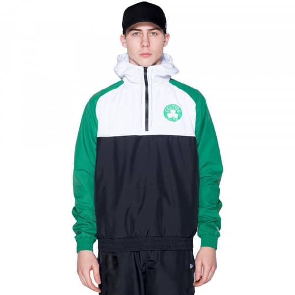 Boston Celtics Hooded NBA Windbreaker Jacke