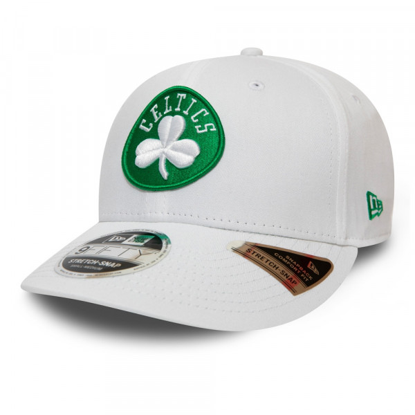 Boston Celtics 9FIFTY Stretch Snapback NBA Cap Weiß