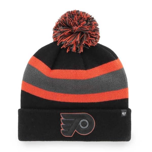 Philadelphia Flyers Black Tonal '47 Breakaway NHL Wintermütze