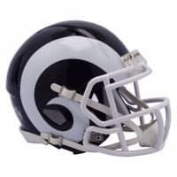 Los Angeles Rams American Football NFL Speed Mini Helm