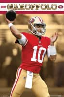 Jimmy Garoppolo San Francisco 49ers Superstar NFL Poster