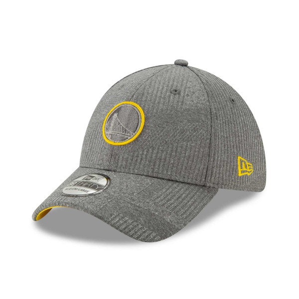 Golden State Warriors 2019 NBA Authentics Training 39THIRTY Stretch Fit Cap