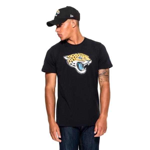 Jacksonville Jaguars Team Logo Football NFL T-Shirt Schwarz