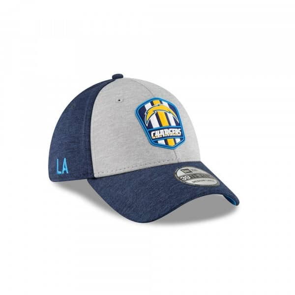 half off 557a3 59c7c New Era Los Angeles Chargers 2018 NFL Sideline 39THIRTY Flex Cap Road    TAASS.com Fan Shop