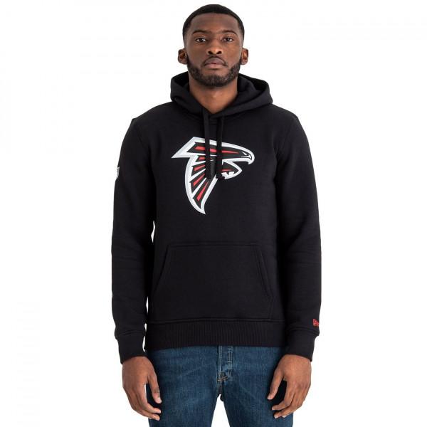 Atlanta Falcons Logo Hoodie NFL Sweatshirt Schwarz