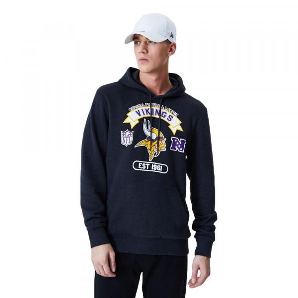Minnesota Vikings 2020 Team Graphics NFL Hoodie Sweatshirt