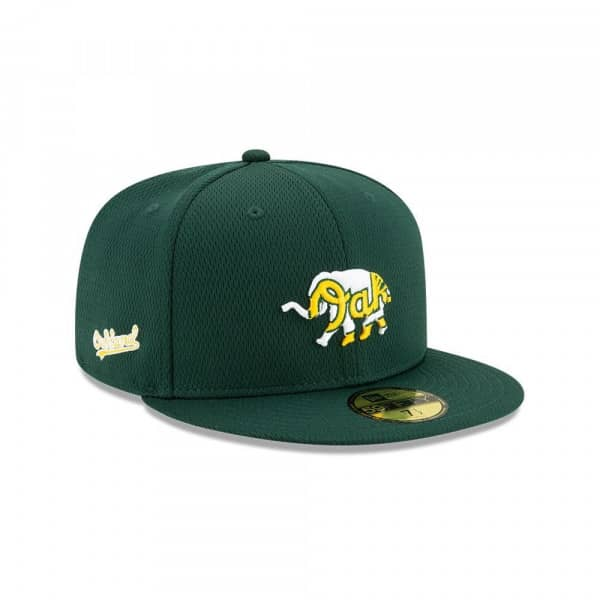 Oakland Athletics 2020 Authentic Spring Training 59FIFTY Fitted MLB Cap