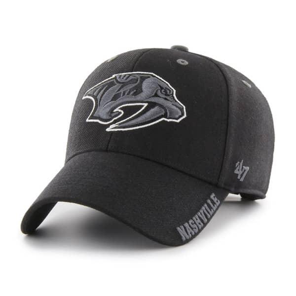 Nashville Predators Graphite Defrost MVP Adjustable NHL Cap