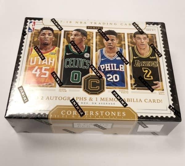 2017/18 Panini Cornerstones Basketball Hobby Box NBA
