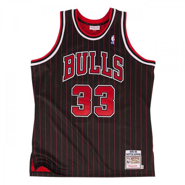 Scottie Pippen #33 Chicago Bulls 1995-96 Authentic NBA Trikot