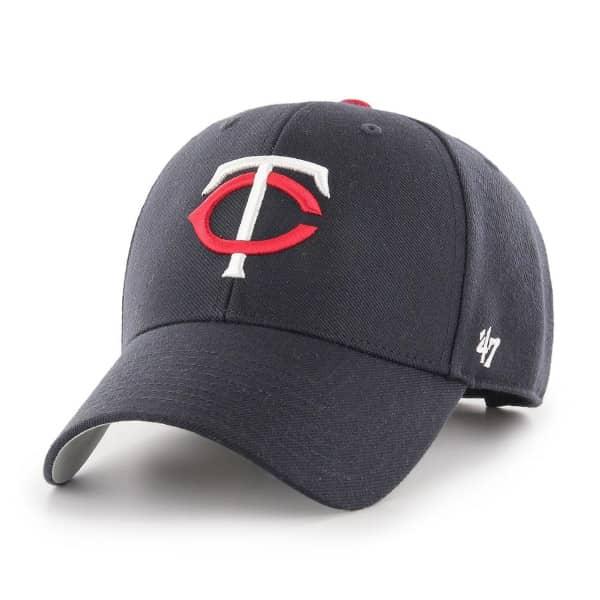 Minnesota Twins '47 MVP Adjustable MLB Cap Home Navy