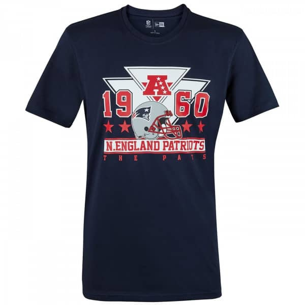 New England Patriots Triangle NFL T-Shirt