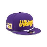 Minnesota Vikings 2019 NFL On-Field Sideline 9FIFTY Snapback Cap Home
