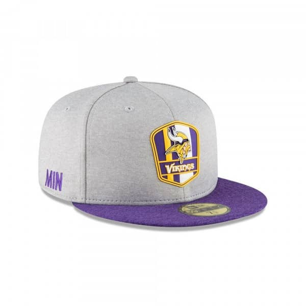 d95c8ea7798 ... sale minnesota vikings 2018 nfl sideline 59fifty fitted cap road 47c53  a0769