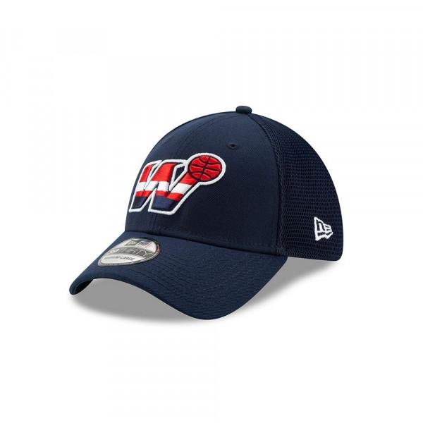 Washington Wizards 2019 NBA Back Half 39THIRTY Stretch Fit Cap