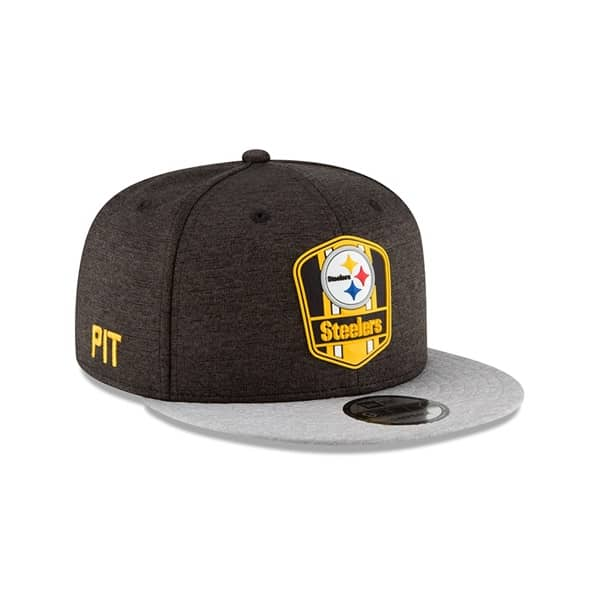 various colors 3a1a4 5c1c7 New Era Pittsburgh Steelers 2018 NFL Sideline 9FIFTY Snapback Cap Road    TAASS.com Fan Shop