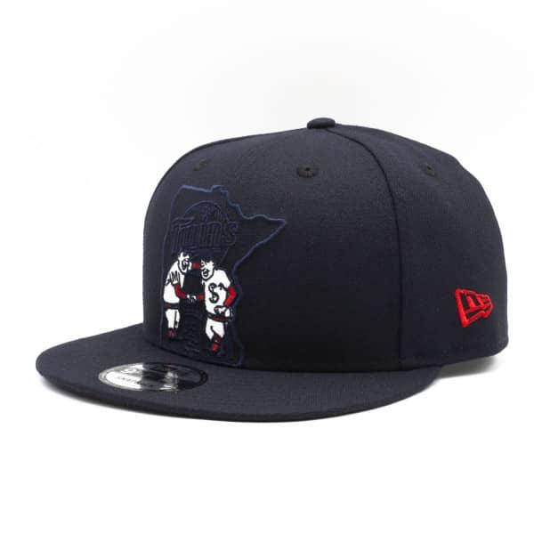 Minnesota Twins Logo Elements New Era 9FIFTY Snapback MLB Cap