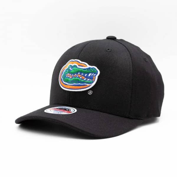 Florida Gators Logo Mitchell & Ness Classic Red Stretch Snapback NCAA Cap