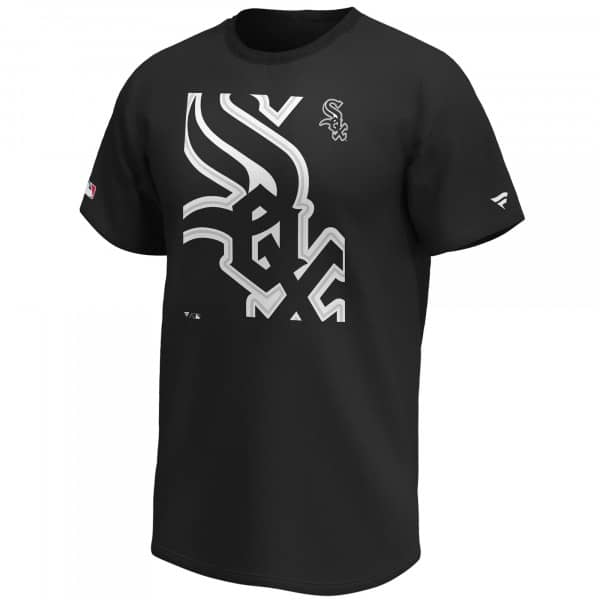 Chicago White Sox Reveal Fanatics MLB T-Shirt Schwarz