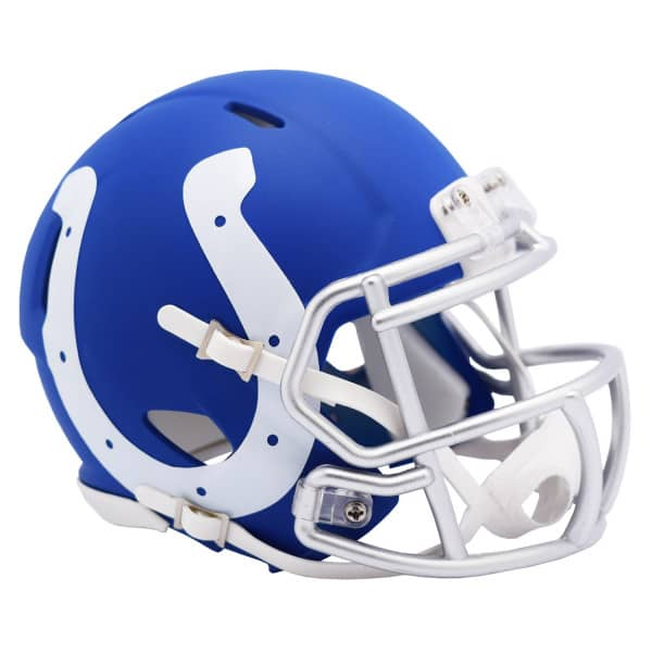 Indianapolis Colts AMP Alternate NFL Speed Mini Helm