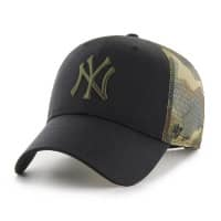 New York Yankees Camo Back Switch MLB Trucker Cap