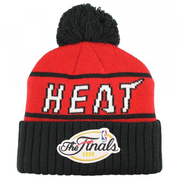 Miami Heat Championship Cuff NBA Wintermütze