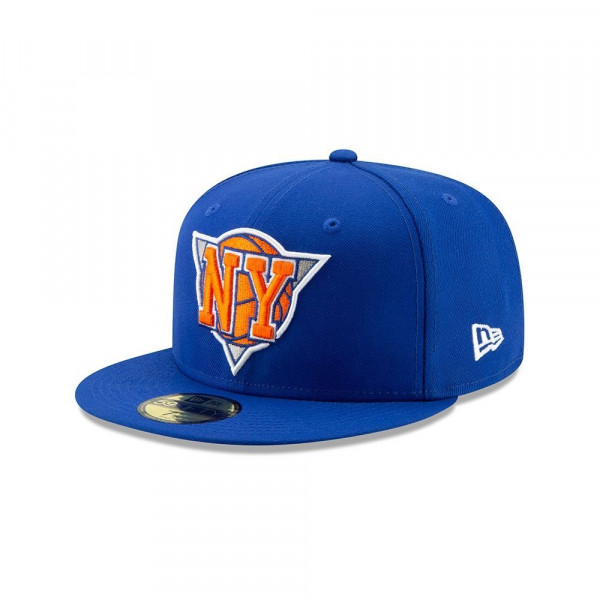 New York Knicks 2019 NBA Back Half 59FIFTY Fitted Cap