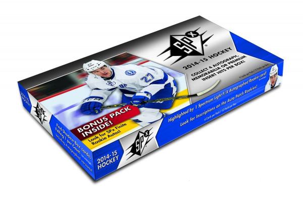 2014/15 Upper Deck SPx Hockey Hobby Box NHL