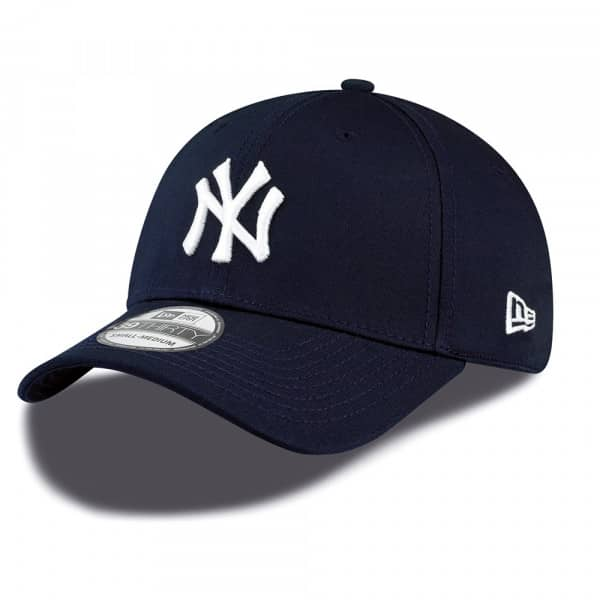New York Yankees League Basic New Era 39THIRTY Flex Fit MLB Cap Navy