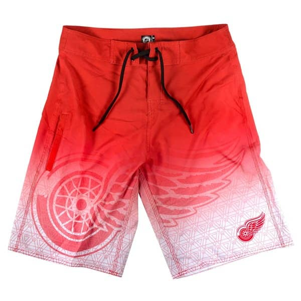 Detroit Red Wings Eishockey Boardshorts NHL Badehose