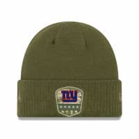 New York Giants 2019 On-Field Salute to Service NFL Beanie Wintermütze