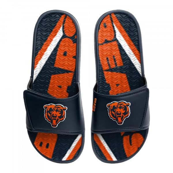 Chicago Bears NFL Wordmark Gel Badelatschen