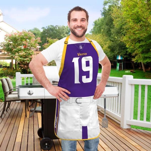 Adam Thielen #19 Minnesota Vikings NFL Spielerschürze