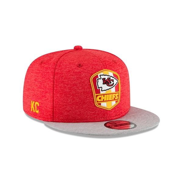 62b931da1 New Era Kansas City Chiefs 2018 NFL Sideline 9FIFTY Snapback Cap Road |  TAASS.com Fan Shop