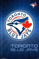 Toronto Blue Jays Team Logo MLB Poster RP14702