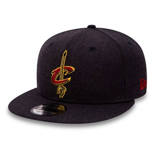 Cleveland Cavaliers Team Heather 9FIFTY Snapback NBA Cap
