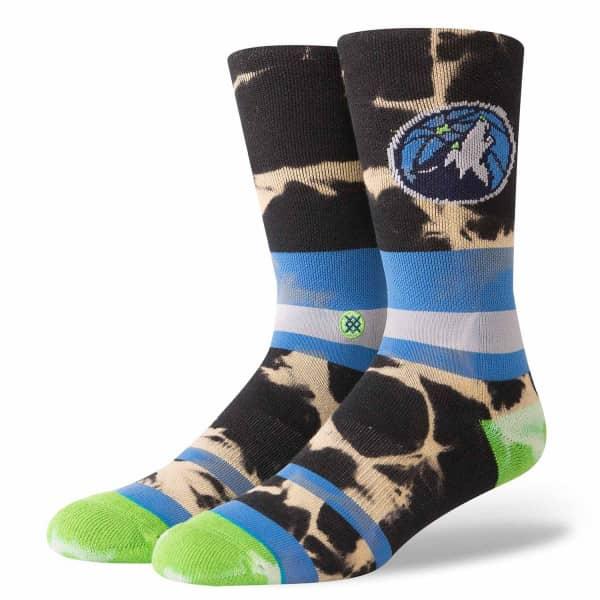 Minnesota Timberwolves Acid Wash NBA Socken