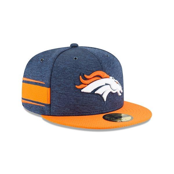 Denver Broncos 2018 NFL Sideline 59FIFTY Fitted Cap Home