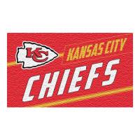 Kansas City Chiefs Punch Print NFL Kokos Fußmatte