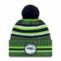 Seattle Seahawks 2019 NFL Sideline Sport Knit Wintermütze Home